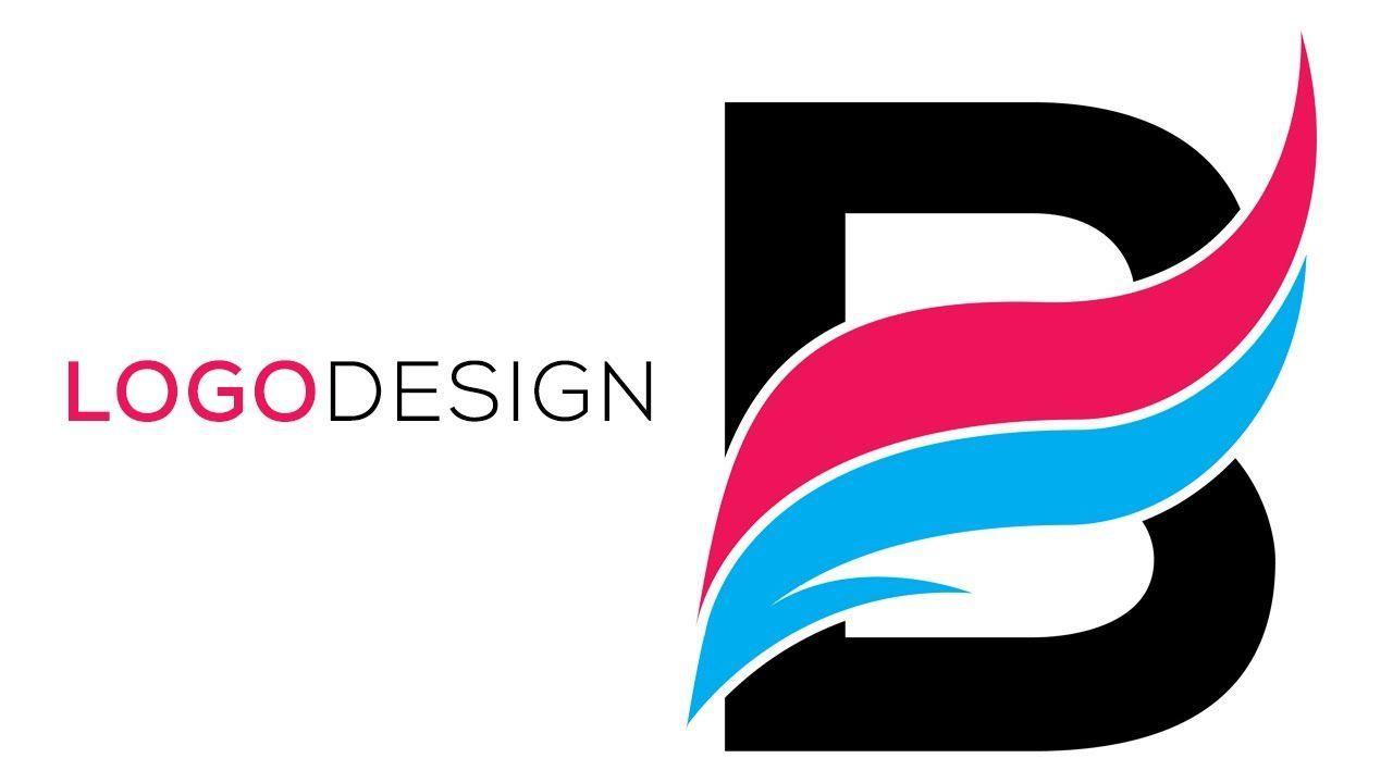 Alphabet B : Photoshop LOGO Tutorials with FREE SOURCE FILE 03 ... for Logo Design For Alphabets  110zmd