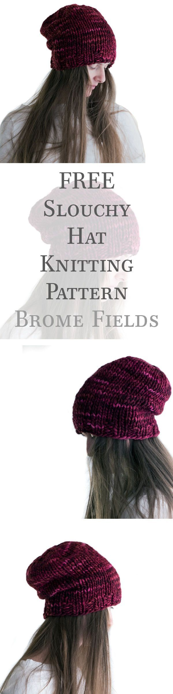 Perfect slouchy hat! | Knitty Gritty | Pinterest | Gorros y Tejido