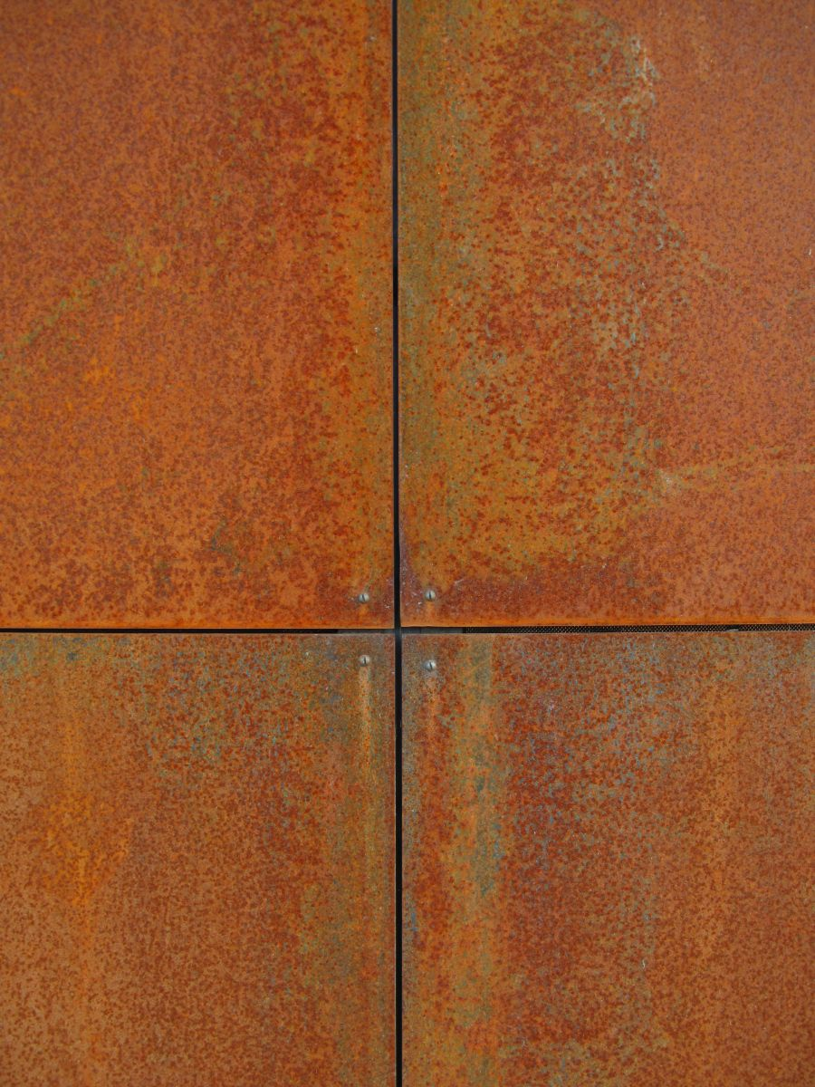 Metal Siding Sheets : Corten steel panels and