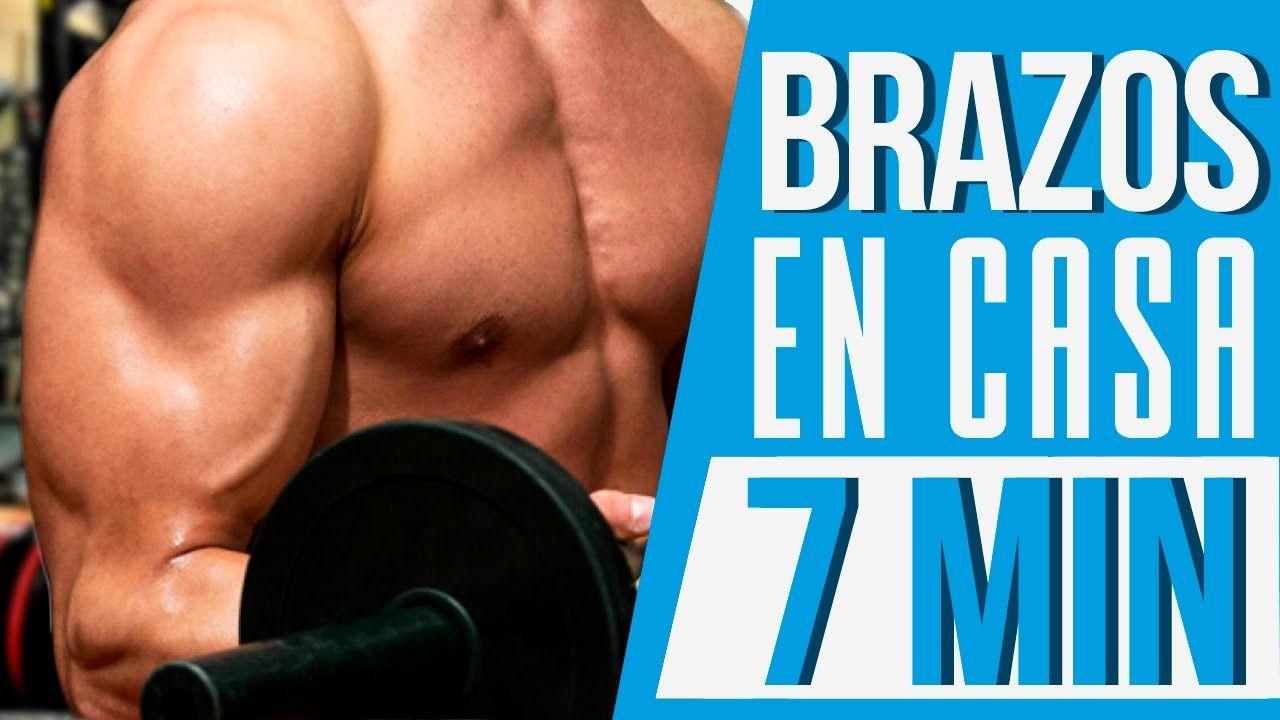 Ejercicios Para Brazos En Casa Rutina Bíceps Y Tríceps 7 Min Rutina Biceps Ejercicios Para Brazos Ejercicios Brazos En Casa