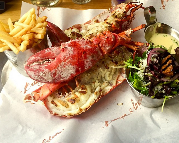 London's Famous Burgers & Lobsters