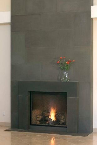 Pin By Michele Alfano Design On Concrete In 2019 Modern Fireplace