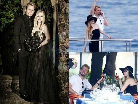 Chad Kroeger And Avril Lavigne Wedding Dress 86194 | LOADTVE