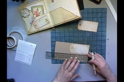 Magic Fold Mini Album   Laura Denison Designs