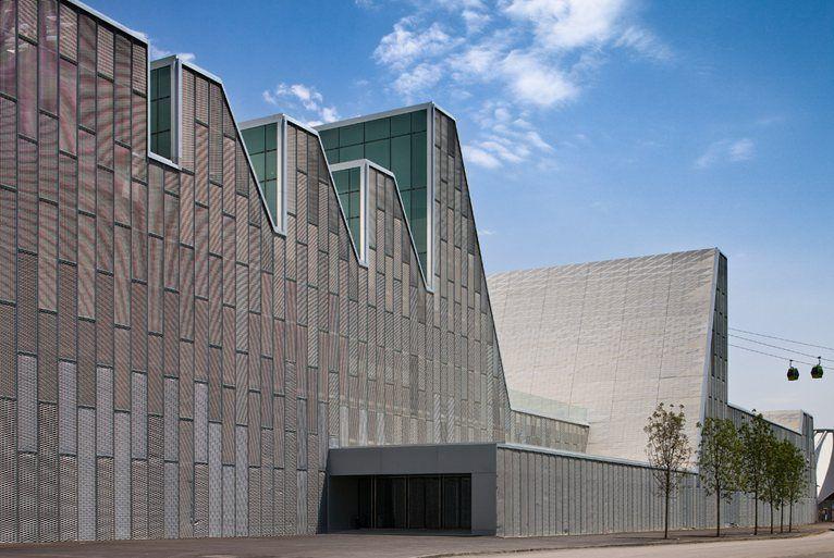 El Palacio de Congresos de Aragn, Saragozza, 2008 - Nieto Sobejano Arquitectos