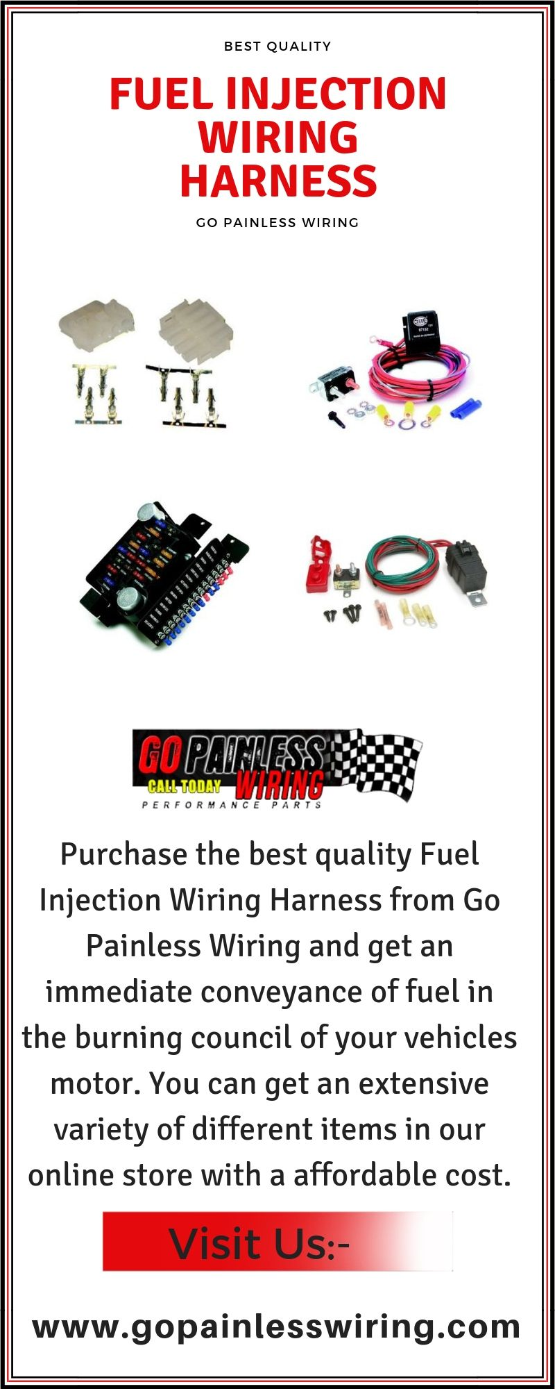 Purchase the best quality Fuel Injection Wiring Harness from