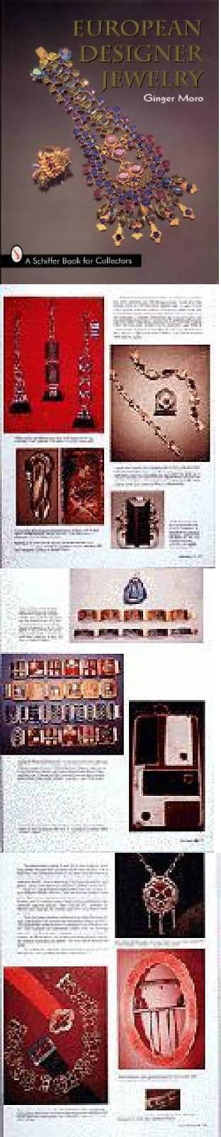 Price Guides and Publications 171122 European Designer Jewelry Book