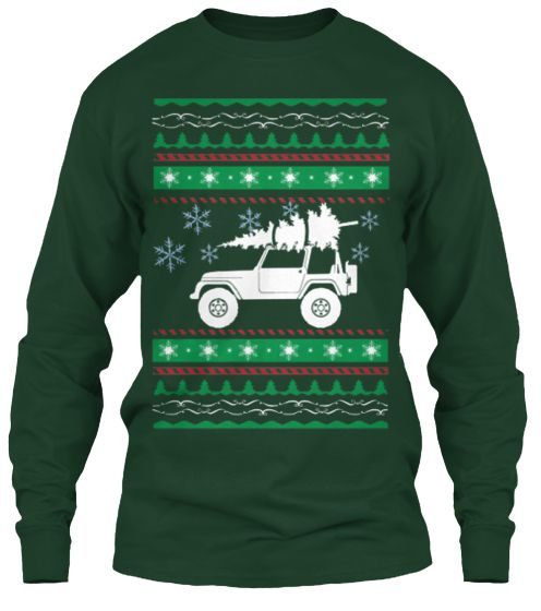 Limited Time Jeep Wrangler Christmasgift Ugly Sweater Guy