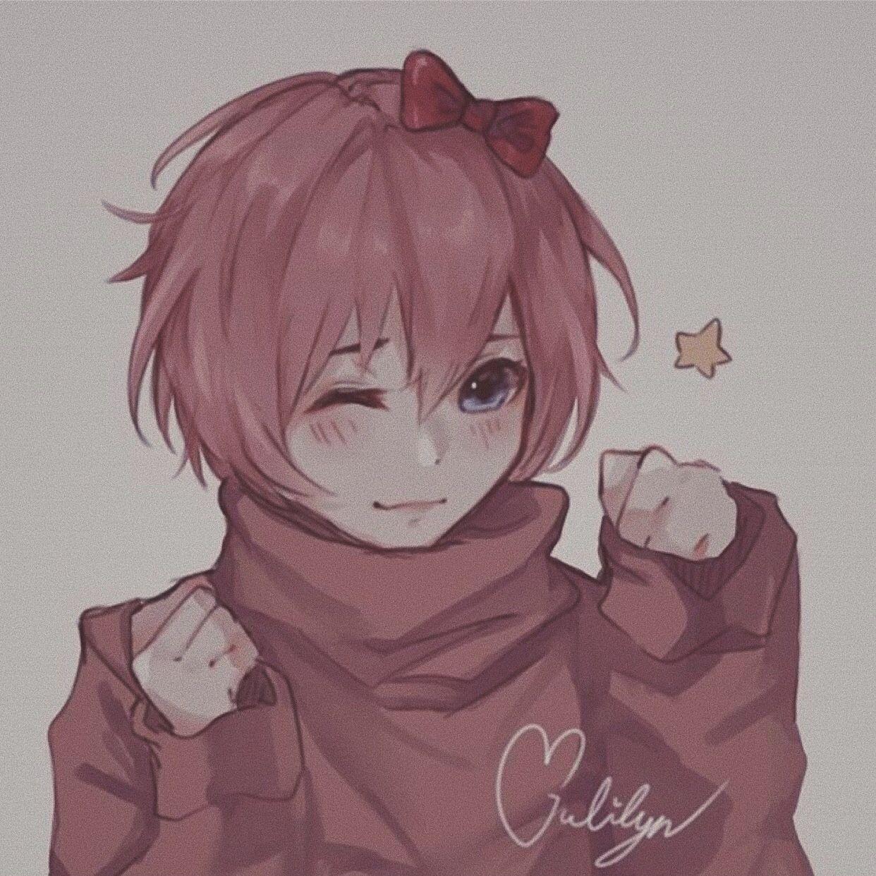 Pastel Pink Aesthetic Ddlc Sayori Literature Club Literature Anime