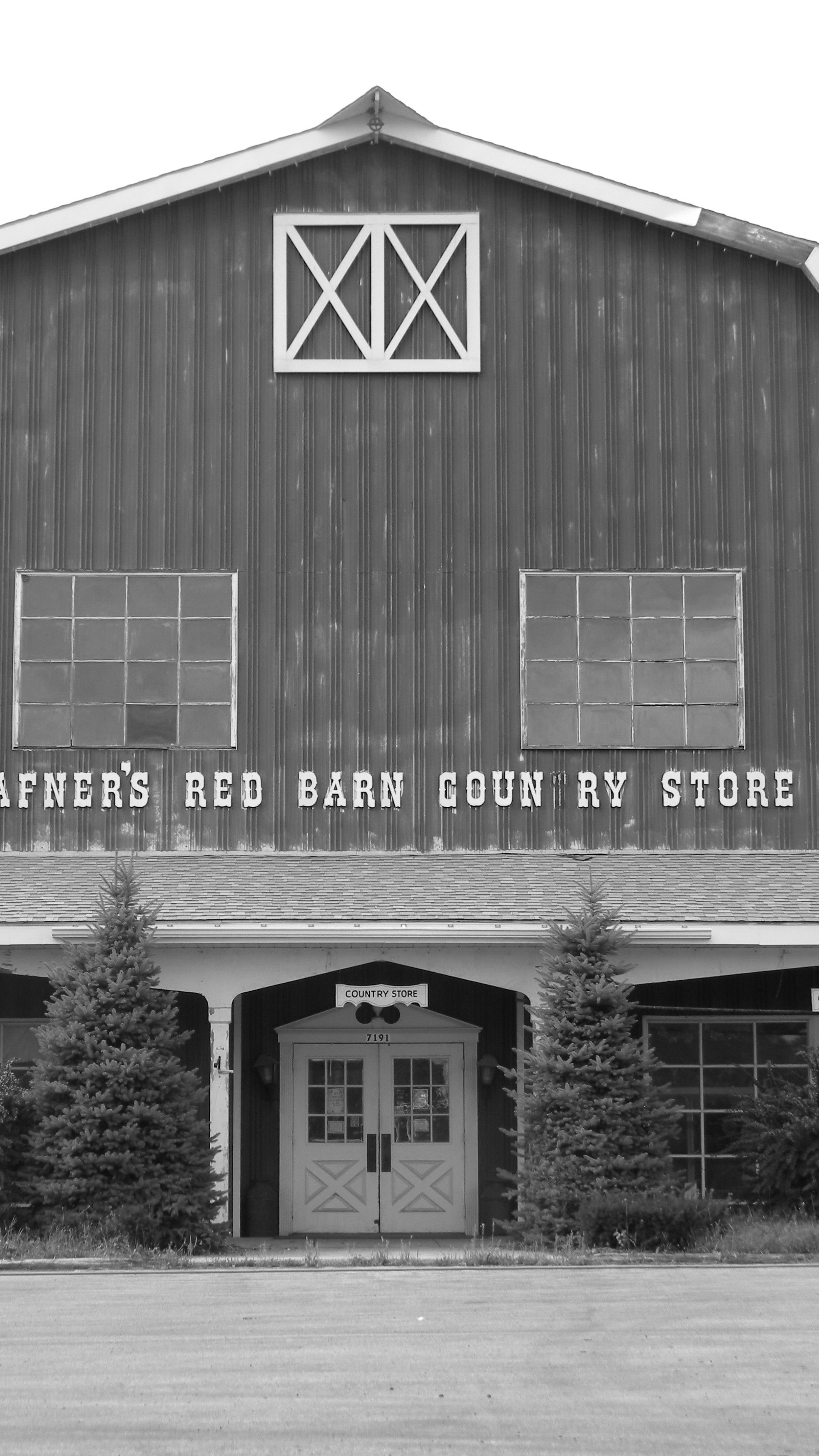 The now closed Hafner's Red Barn...this place was ...