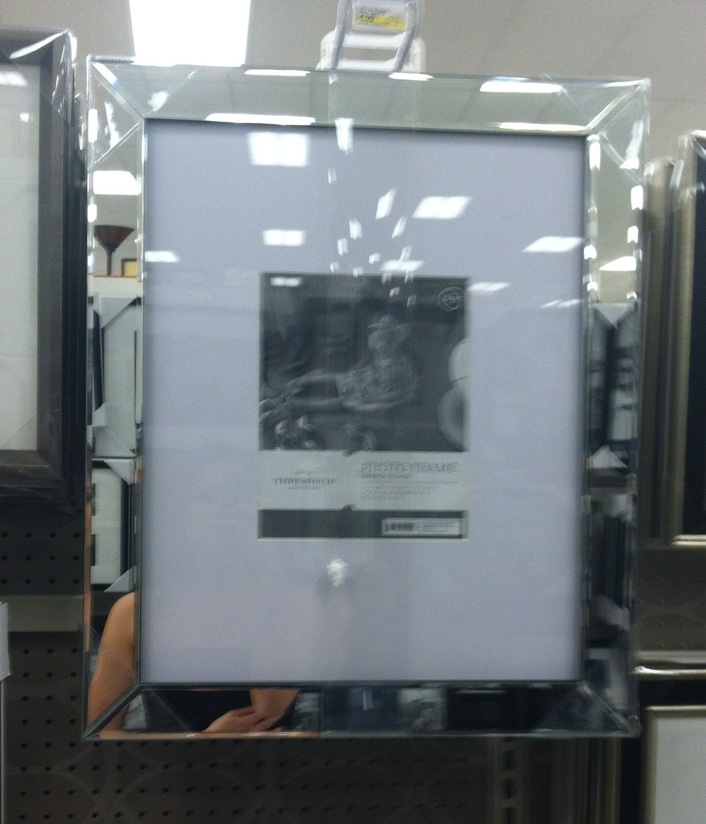 Mirrored frame- Target | Ramsey Dining Room | Pinterest | Decking ...
