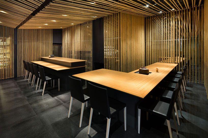 Kengo Kuma Covers Jugetsudo Kabukiza Tearoom In Bamboo Hospital