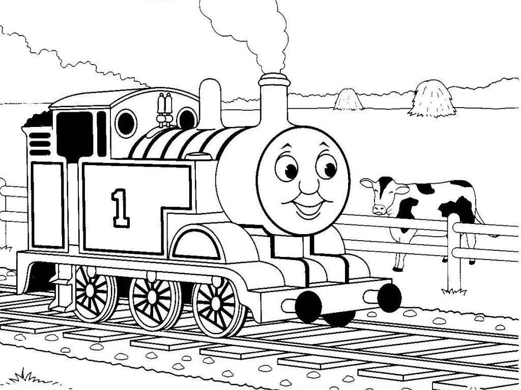 Thomas Coloring Pages Train Coloring Pages