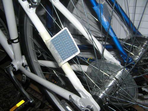 Make Your Bike Sound Like A Motorcycle Bike Card Bike Cool