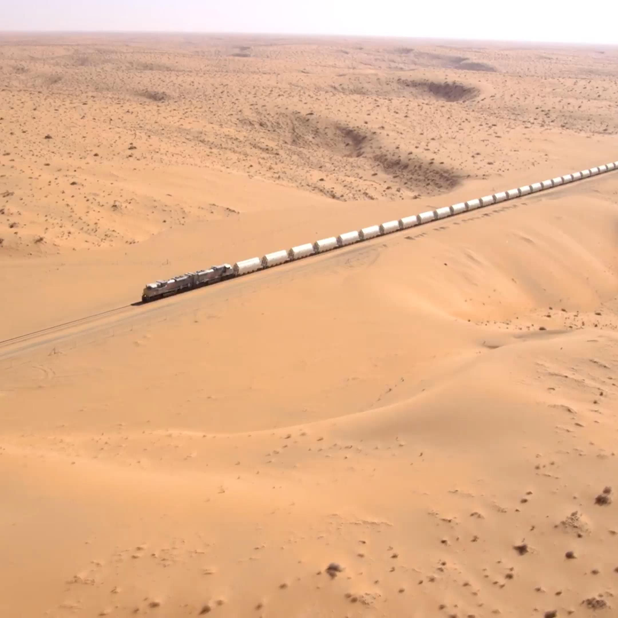 View From The Air To A Train In The Desert Of Saudi Arabia Video Places To Travel Saudi Arabia Photo