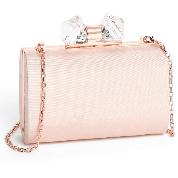 Ted Baker London 'Holiday - Crystal' Frame Clutch