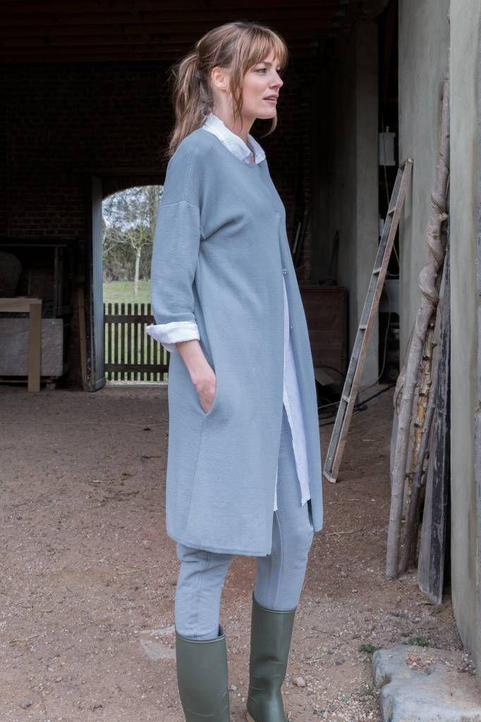 SYLVER Cotton Blouse Long - Sylver