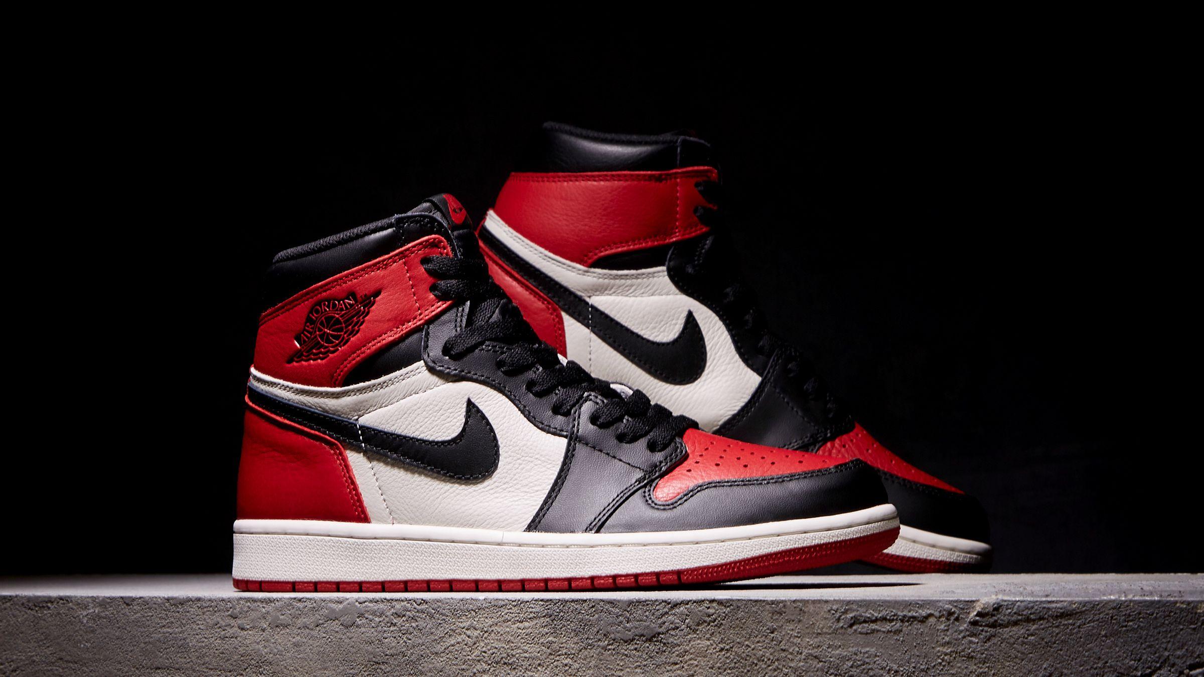 Nike Air Jordan 1 Retro High Og Gym Red Black Summit White