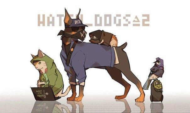 Pin by Detap on Watch dogs/Сторожевые псы | Watch dogs ...