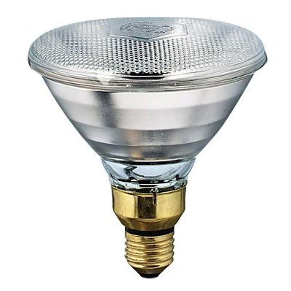 Philips 175 Watt 120 Volt Par 38 Incandescent Heat Lamp Light Bulb 145516 0 The Home Depot Infrared Light Bulb Light Bulb Heat Lamps