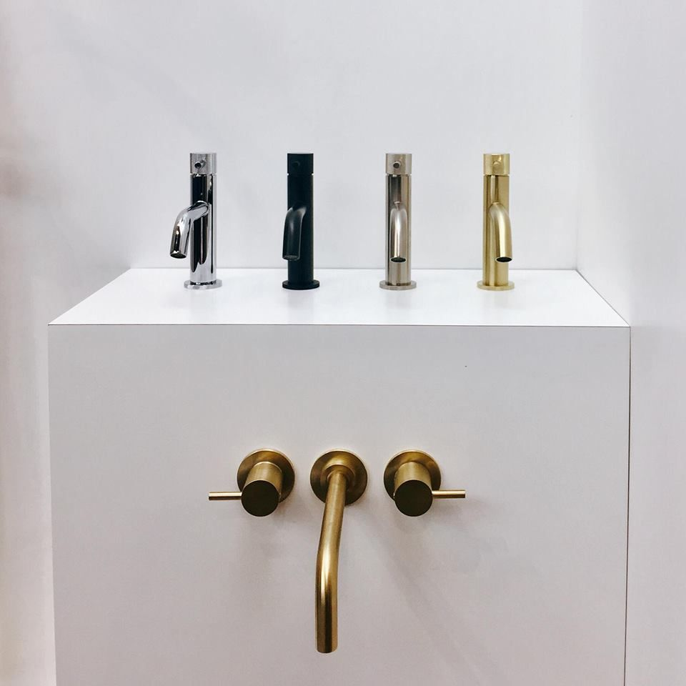 Image result for crosswater brushed brass taps | Bathroom ...