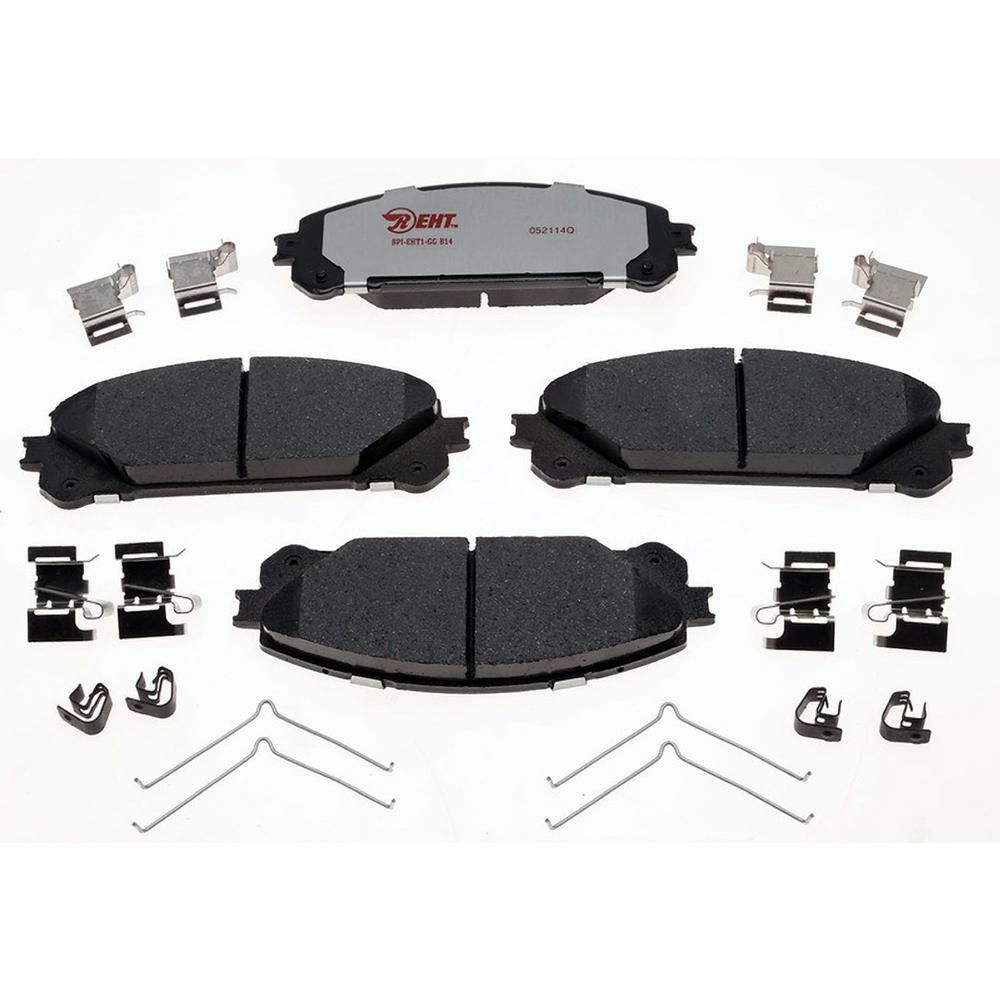 Front Rear Powder Coated Brake Calipers For 2008 2009 Toyota Highlander