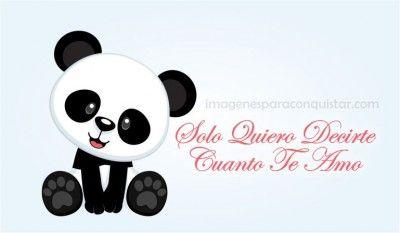 Dibujos Tiernos Para Enamorar De Ositos Panda Lulu Panda Y Love
