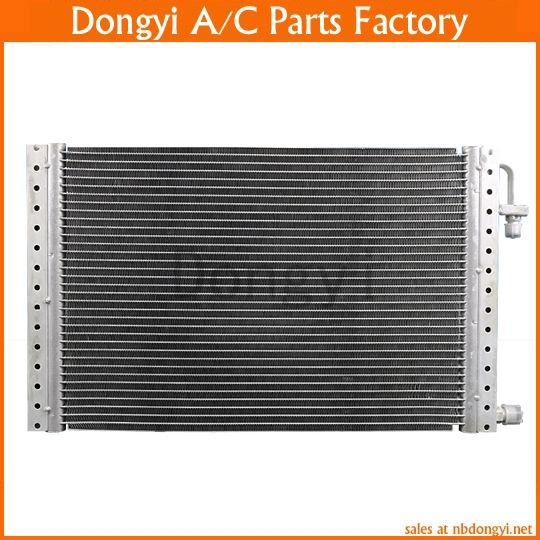 Universal Parallel Flow 14 X 23 X 20 Condenser Radiator For Heavy Duty Truck Excavator Street Rod A C Ac Air Con Heavy Duty Truck Replacement Parts Street Rods