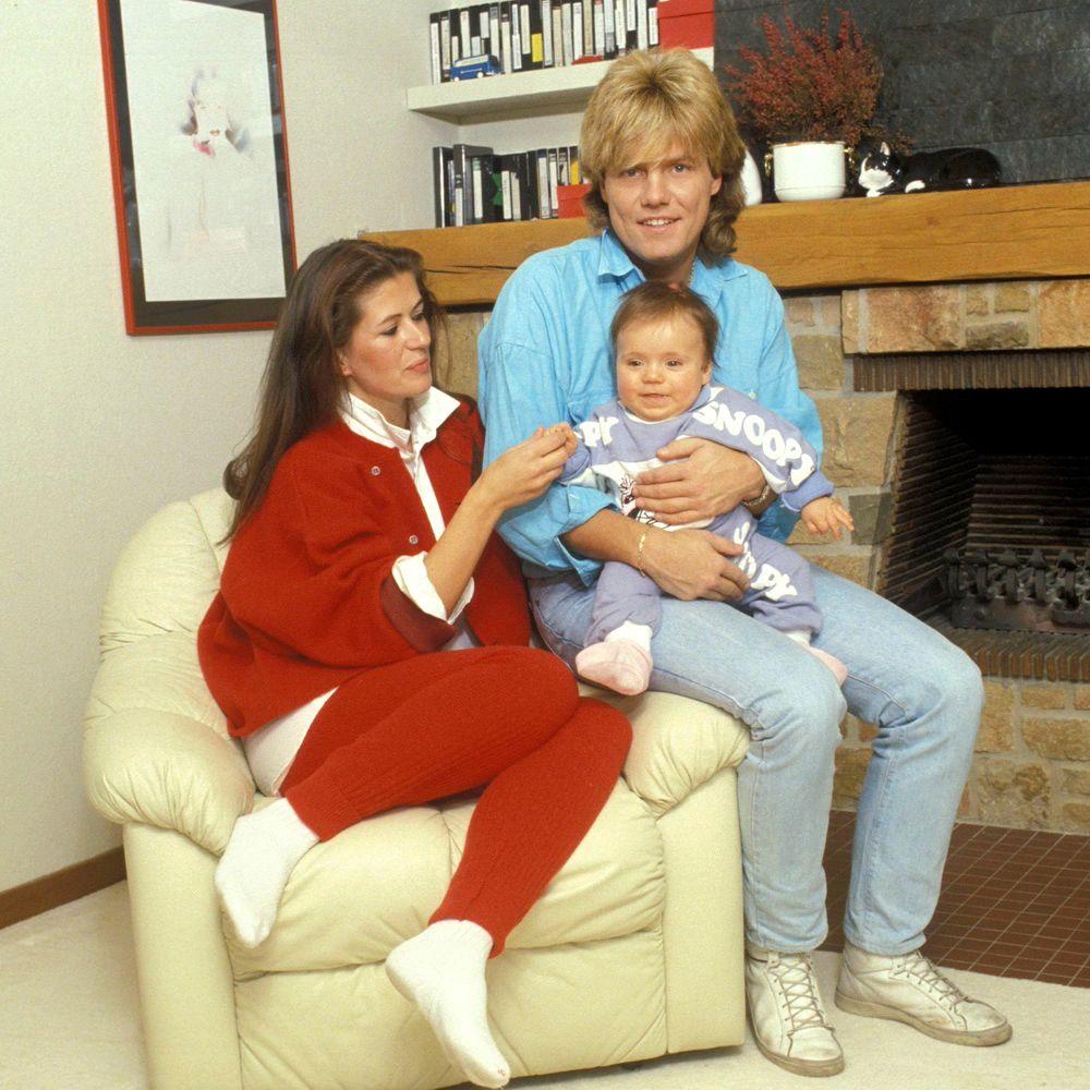 Dieter Bohlen With His Wife Erika And Son Mark Bohlen Dieter Bohlen
