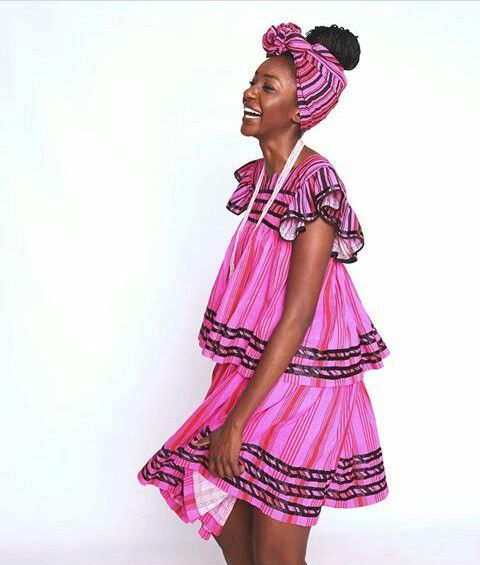 Namibian Oshiwambo Traditional Attire The Beauty Of