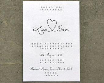Wedding Invitation – Personalised Destination Wedding Invitation Passport & Boarding Pass Suite including DL Kraft Envelope