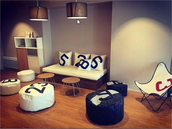 Ambiance décoration 727sailbags. Luminaire, lampe, coussin, canapé ...