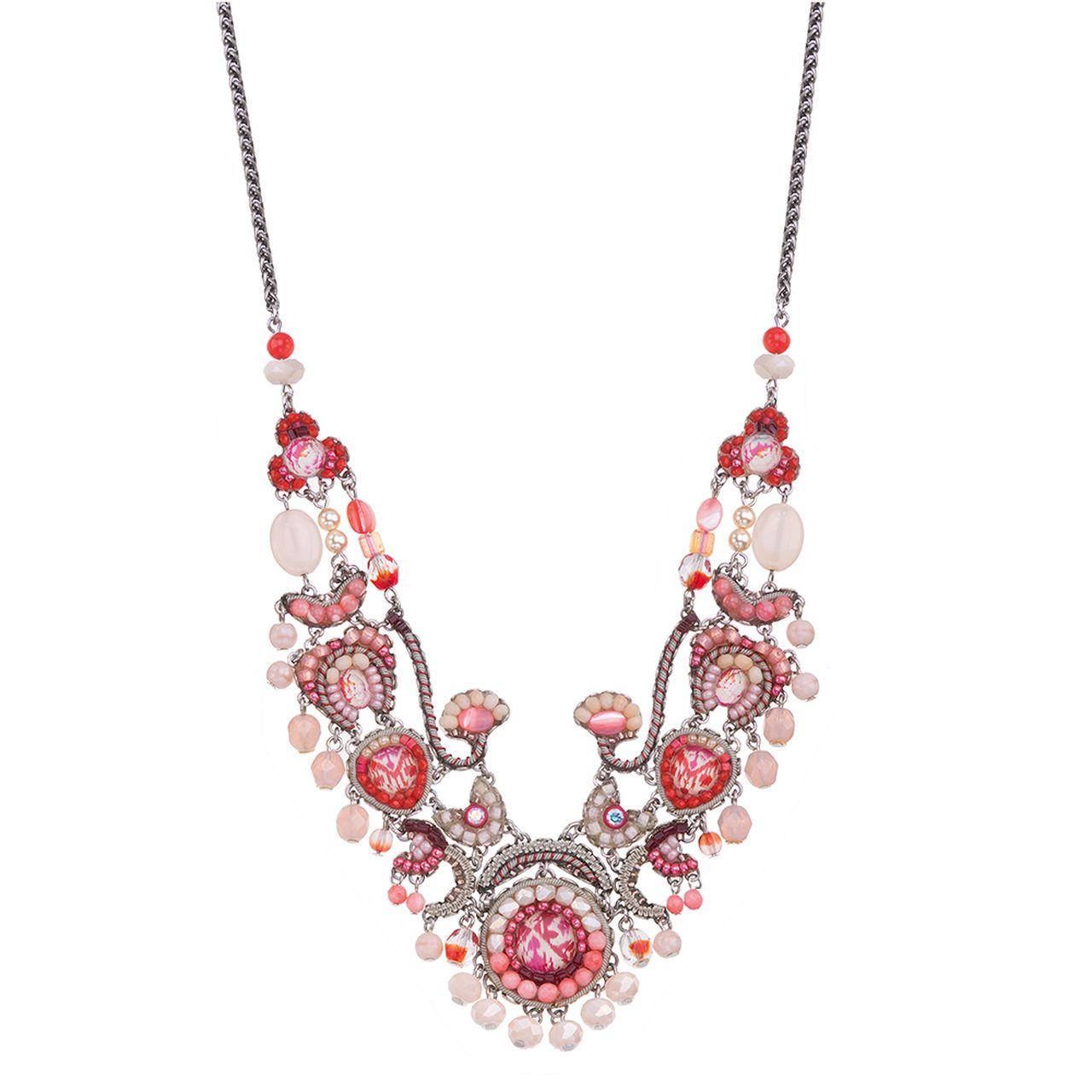 Ayala Bar Gogi Pearls Rosebud Necklace In 2020 Bar Necklace Bar Jewelry Pearls