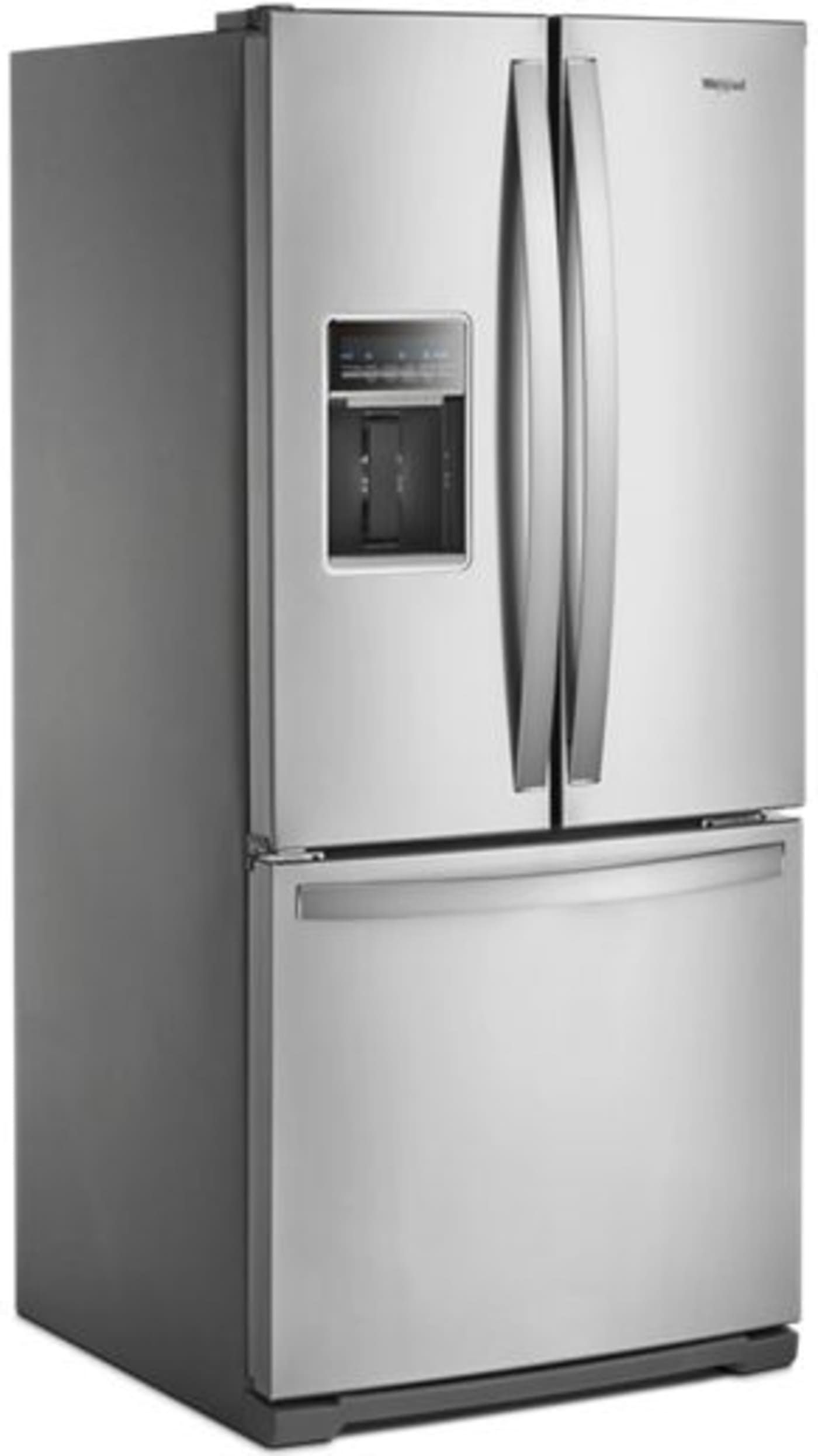 Wrf560sehz By Whirlpool French Door Refrigerators Goedekers Com Stainless Steel French Door Refrigerator French Door Refrigerator French Doors