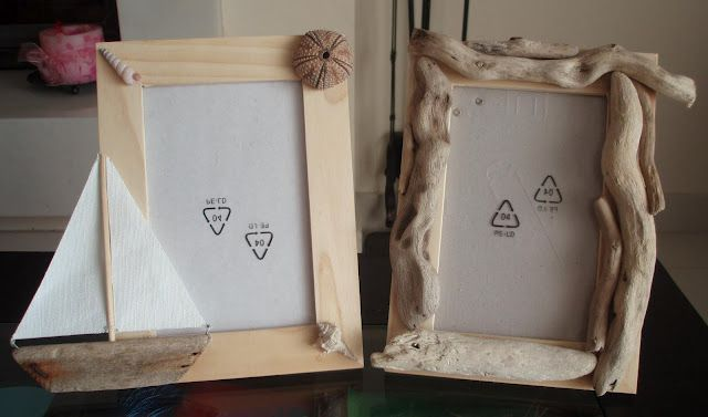 IKEA Hackers: Artistic Ikea frames: Love the drift wood! Would make ...