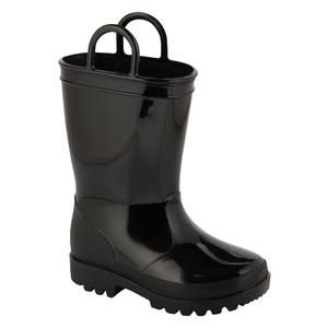 e7d6f13eb4c Toddler Boy's Black Arcade Rain Boot - Kmart | Logan's Halloween ...