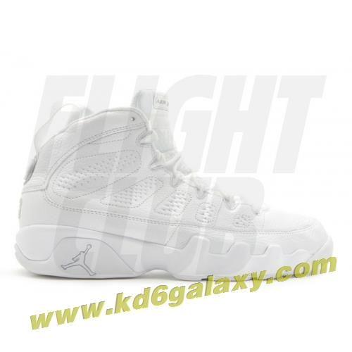 df6a29d01453 Air Jordan 9 retro 25th anniversary white metallic silver