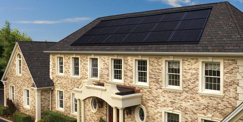 Solar Roofing Comparison Solar Cost Most Efficient Solar Panels House Exterior