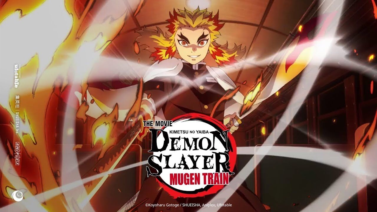 Demon Slayer Kimetsu No Yaiba Movie Infinity Train Official Trailer 2 English Sub Fantasi Gelap Bioskop Gambar Tokoh