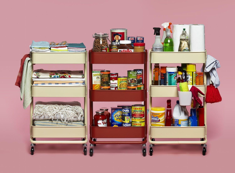 10 Smart Ways to Use IKEA's RÅSKOG Cart in the Kitchen — Organize the IKEA Way