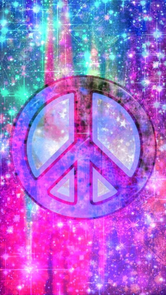Galaxy Paint Splash Peace Sign, made by me #purple #blue # ...