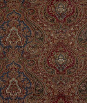 Ralph Lauren Ashbourne Paisley Navy Hunter Fabric A