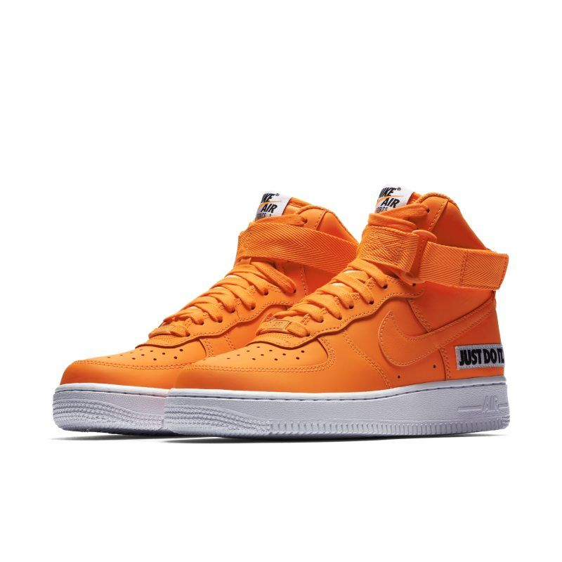 new product 73729 df288 Nike Air Force 1 High LX Leather Women s Shoe - Orange