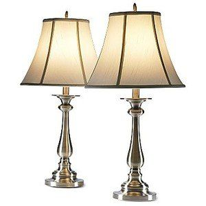 Set Of 2 Hennessey Table Lamps Home Decor Perfect Lighting Option For Your  Library Office Bedroom