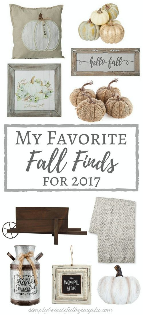 simply beautiful by angela my favorite fall finds for 2017 farmhouse fall decor