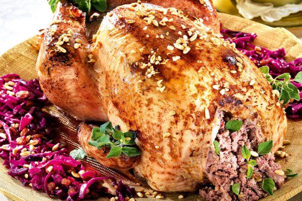 13 incre bles recetas de pavo para nochebuena recetas de for Como cocinar pechuga de pavo