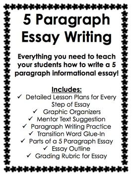 5 Paragraph Informational Essay Writing (With images