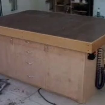Torsion Box Assembly Table Woodworking Plan By The Wood