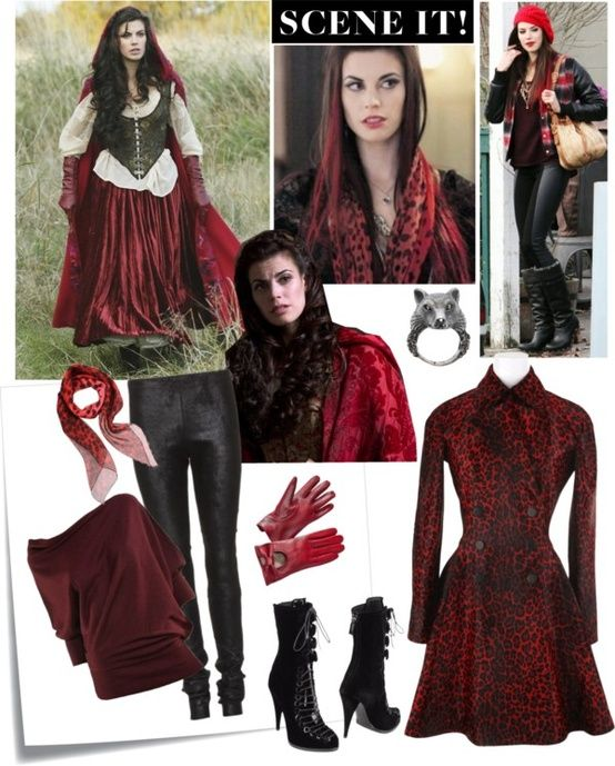 Once Upon A Time Costumes: Ruby's Clothing From Once Upon A Time