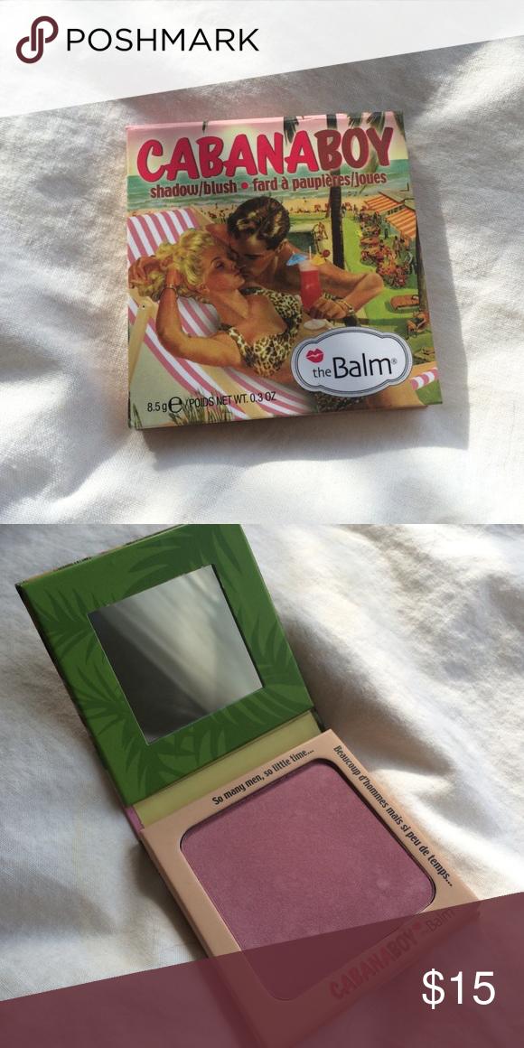 The Balm Cabanaboy Blush Brand new! The Balm Makeup Blush